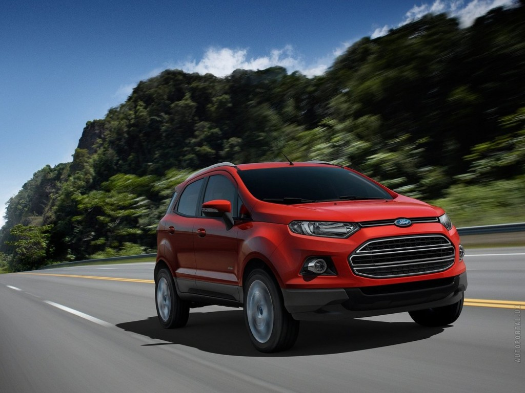 Фото Ford EcoSport Concept 2…